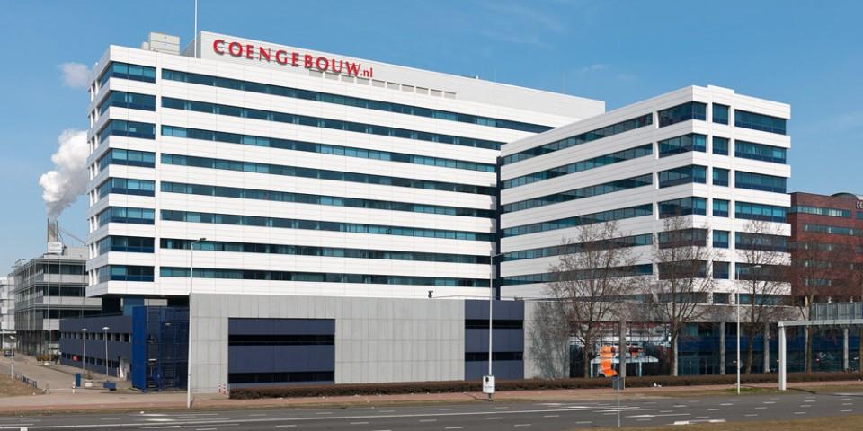 AEW Europe verhuurt circa 1.301 m² kantoorruimte in het Coengebouw Amsterdam